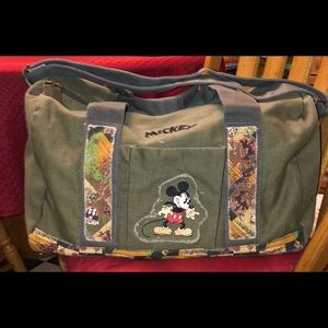 Vintage Mickey Mouse Duffle Bag